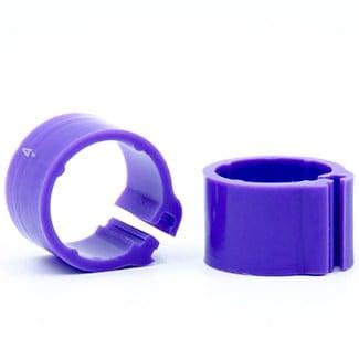Knijpring blanco 8 violet