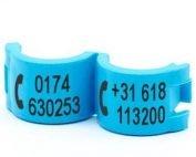 Lockring telefoonnummer(s) lichtblauw