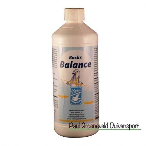 Backs Balance voor duiven