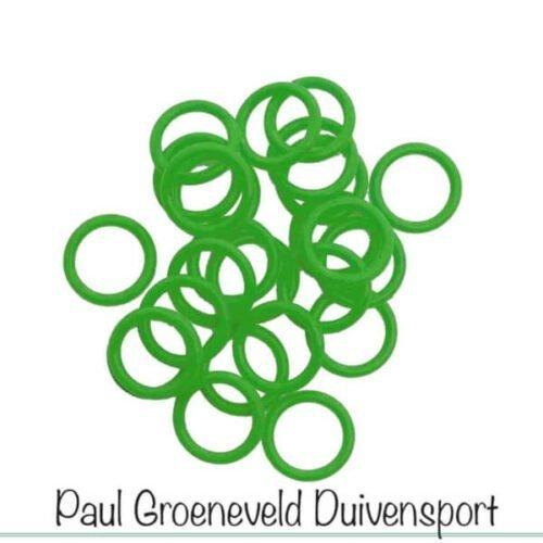 elastische navul ringen groot groen